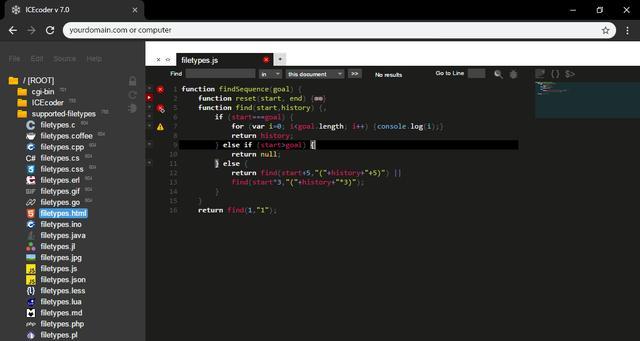 开发人员利器,开源的基于 Web 的 IDE——ICEcoder