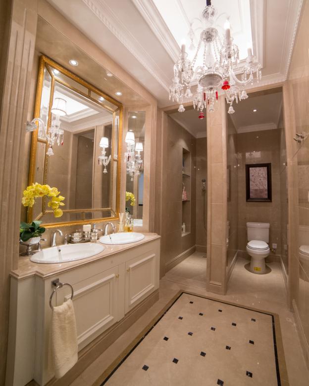 小户型卫生间就该这样设计,实用、漂亮、省空间