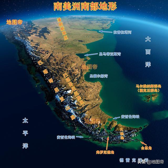 各大洲的东南端,为何都有一个面积较大的岛?