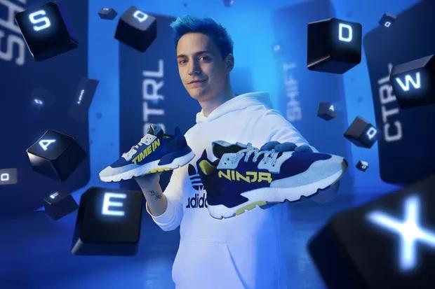 网红游戏主播Ninja与阿迪达斯推出首款联名运动鞋 12月31日上市