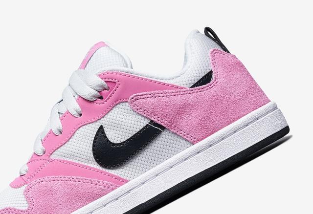 高规格材质打造鞋身!这双粉色系 Nike SB Alleyoop 你打几分?